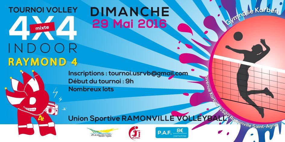 tournoi volley raymond 4