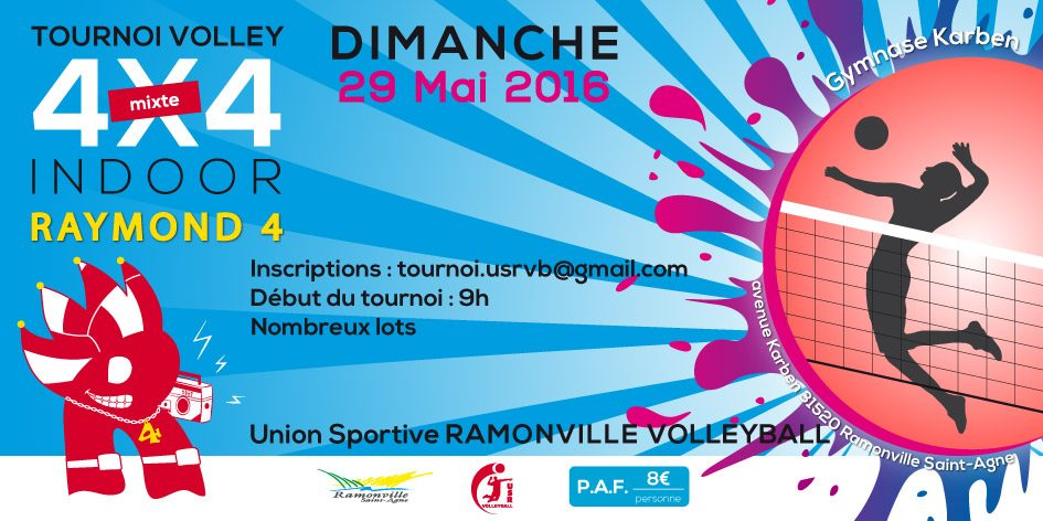 tournoi volley raymond 4